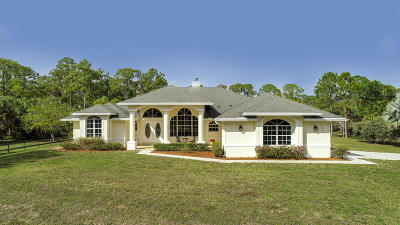 Royal Palm Beach Single Family Home Contingent: 13661 40th Street