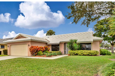 Boca Raton Single Family Home For Sale: 6191 Petaluma Drive