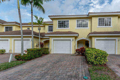West Palm Beach Townhouse For Sale: 1134 Imperial Lake Road