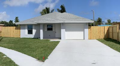 Boynton Beach Single Family Home Contingent: 2753 NW 2nd Street