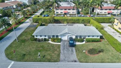 Boca Raton Multi Family Home For Sale: 6401 NE 7th Avenue