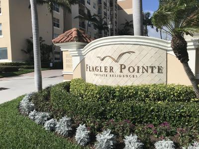 West Palm Beach Condo For Sale: 1801 Flagler Drive #534