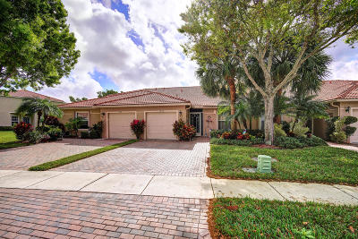Boynton Beach Single Family Home For Sale: 5178 Toscana Trail