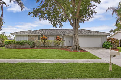 Boca Raton Single Family Home For Sale: 2396 Timbercreek Circle NW