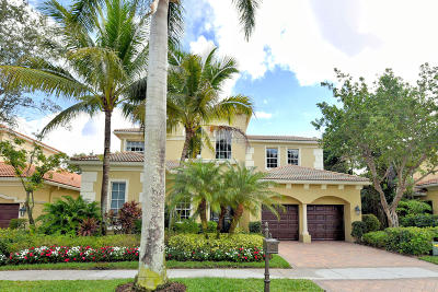 Palm Beach Gardens Single Family Home For Sale: 138 Monte Carlo Drive