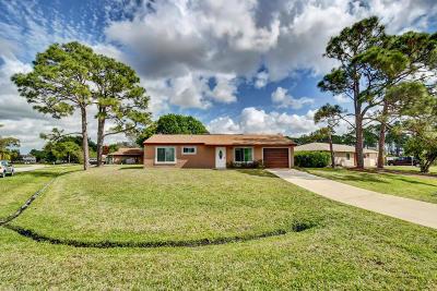 Port Saint Lucie Single Family Home For Sale: 849 SE Kendall Avenue