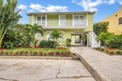 West Palm Beach Multi Family Home For Sale: 1713 Florida Avenue