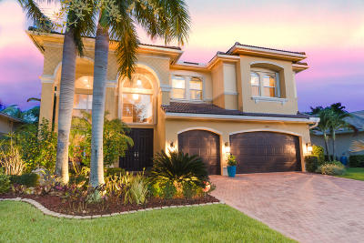 Boynton Beach Single Family Home Contingent: 11945 Fox Hill Circle