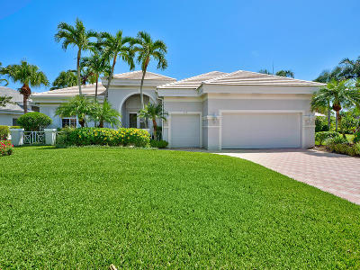 Palm Beach Gardens Single Family Home For Sale: 112 Emerald Key Lane