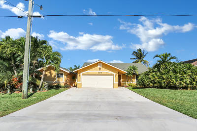 Jupiter Single Family Home Contingent: 6265 Mullin Street