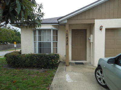 Single Family Home For Sale: 10432 Boynton Place Circle