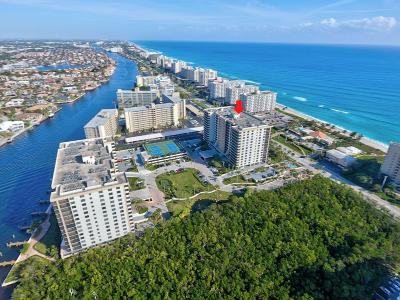 Coronado, Coronado At Boca Raton, Coronado At Highland Beach, Coronado At Highland Beach Cond, Coronado At Highland Beach Condo, Coronado Condo- Tower Ii Condo For Sale: 3400 S Ocean Boulevard #7m