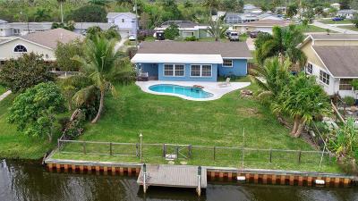 Port Saint Lucie Single Family Home Contingent: 211 Olive Avenue