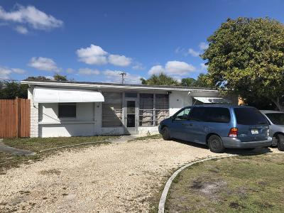 Lantana Single Family Home For Sale: 807 S Broadway