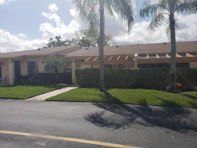 Delray Beach Single Family Home For Sale: 13554 Sabal Palm Court #B
