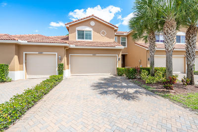 Lake Worth Townhouse For Sale: 4357 Colony View Drive
