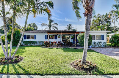 Boca Raton Single Family Home For Sale: 274 NE 28th Road
