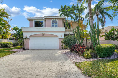 Boca Raton Single Family Home For Sale: 7981 Travelers Tree Drive
