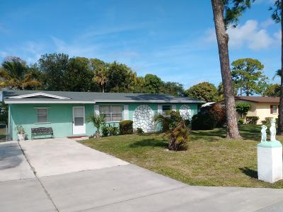 Stuart Single Family Home For Sale: 841 SE 16th Street