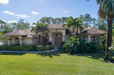 West Palm Beach Single Family Home For Sale: 11352 Sunset Boulevard