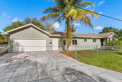 Stuart Single Family Home For Sale: 509 SW Riverdale Street