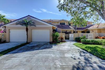 Palm Beach Gardens Townhouse For Sale: 417 Prestwick Lane