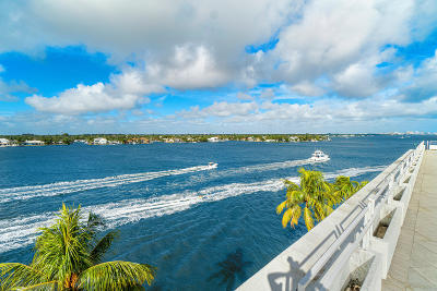 Palm Beach Condo For Sale: 2150 Ibis Isle Road #Tower Su