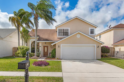 Boca Raton Single Family Home For Sale: 23107 Sunfield Drive