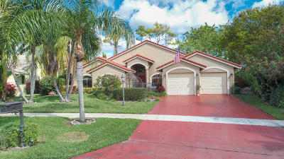Delray Beach Single Family Home For Sale: 5726 Aspen Ridge Circle