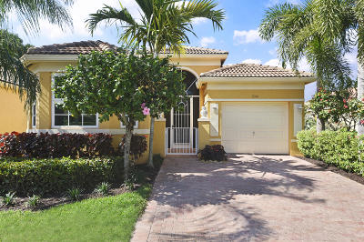 Delray Beach Single Family Home For Sale: 7301 Cataluna Circle
