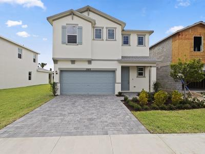 Lake Worth Single Family Home For Sale: 1908 Harding Street