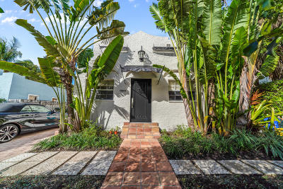 West Palm Beach Single Family Home For Sale: 737 Park Place