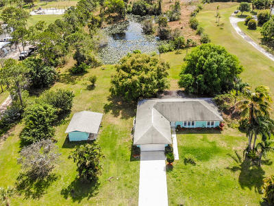 Port Saint Lucie Single Family Home For Sale: 1990 Macquillen Road