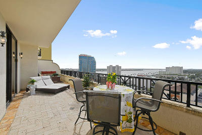West Palm Beach Condo For Sale: 801 S Olive Avenue #1103