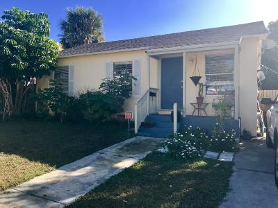 West Palm Beach Single Family Home For Sale: 966 39th Court