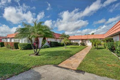 Delray Beach Single Family Home For Sale: 36 Seville B #36