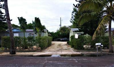 Lake Worth Multi Family Home For Sale: 2407 E East Coast Avenue