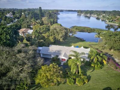 Lake Worth Single Family Home For Sale: 2501 Floral Road