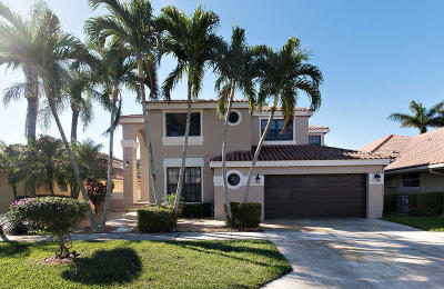 Boca Raton Single Family Home For Sale: 23173 Boca Club Colony Circle