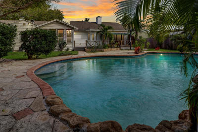 Lake Worth Single Family Home For Sale: 827 Palmway