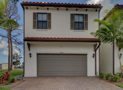 Palm Beach Gardens Single Family Home For Sale: 5056 Laurel Oak Drive