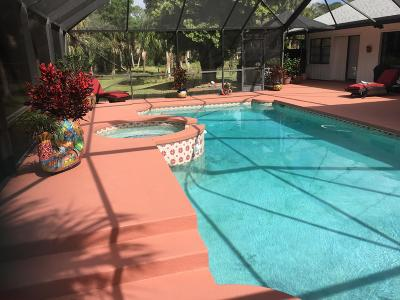 Jupiter Single Family Home For Sale: 17415 Thunder Road
