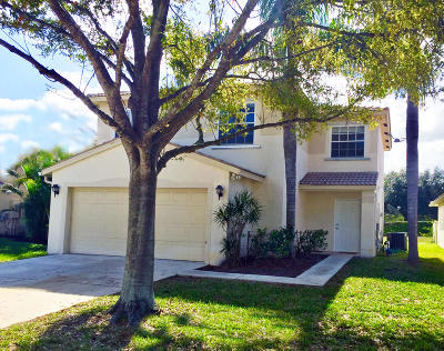 Lake Worth Single Family Home For Sale: 5318 Rivermill Lane