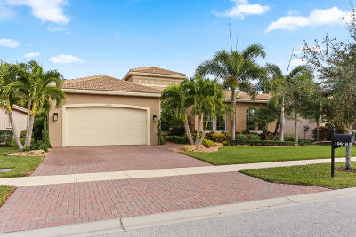 Boynton Beach Single Family Home For Sale: 10618 Whitewind Circle