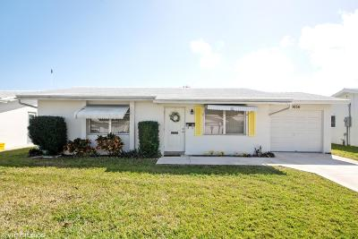 Boynton Beach, West Palm Beach Single Family Home For Sale: 1006 Leisure Lane