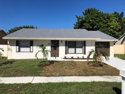 Lake Worth Single Family Home Contingent: 5984 Judd Falls Road