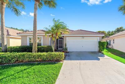 Boynton Beach Single Family Home For Sale: 8148 Mystic Harbor Circle