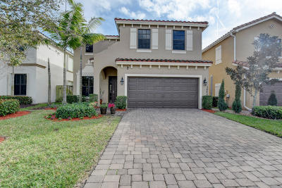 boynton beach Single Family Home For Sale: 3840 Aspen Leaf Drive