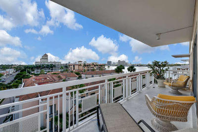 Palm Beach Condo For Sale: 250 Bradley Place #702