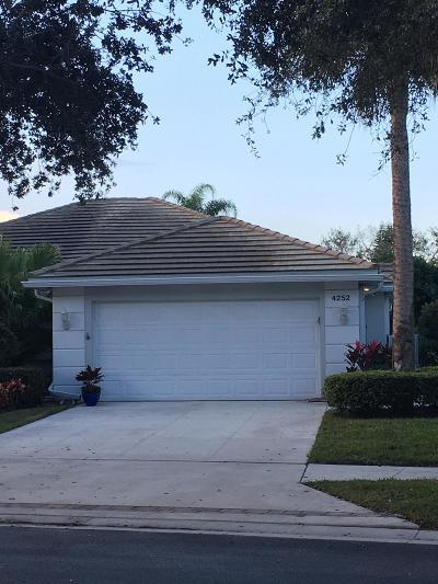 Palm Beach Gardens Single Family Home Contingent: 4252 Royal Oak Drive